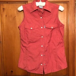 Carhart women's sleeveless shirt size S